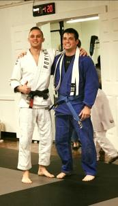 Cooper Williams Gets His Blue Belt