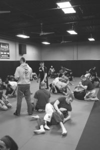 Live Training Black And White
