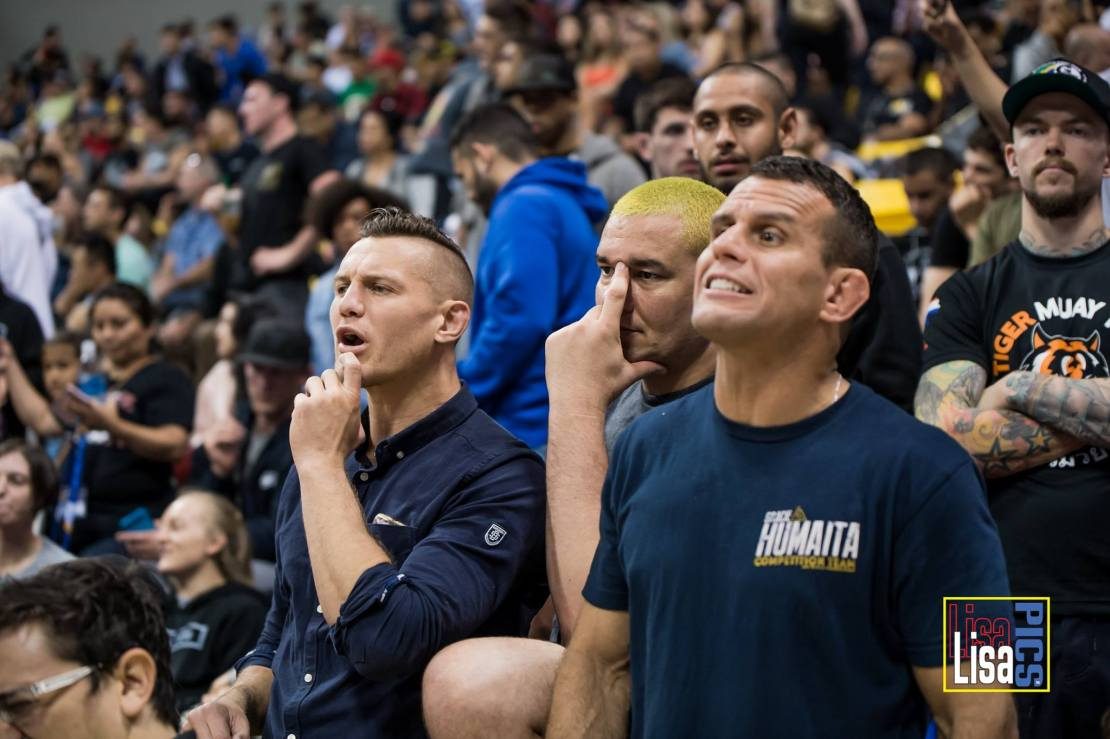 BJJ Worlds Reaction Photo