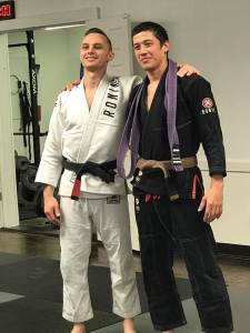 Allen Gibson Promoted From Purple Belt To Brown Belt