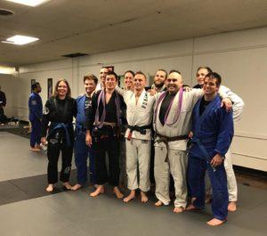 Promotion Photo Blue Belt, Purple Belt, Brown Belt