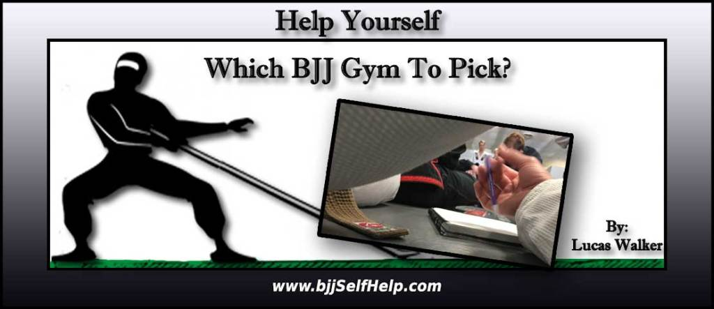 Researching Which BJJ Gym To Pick To Train At