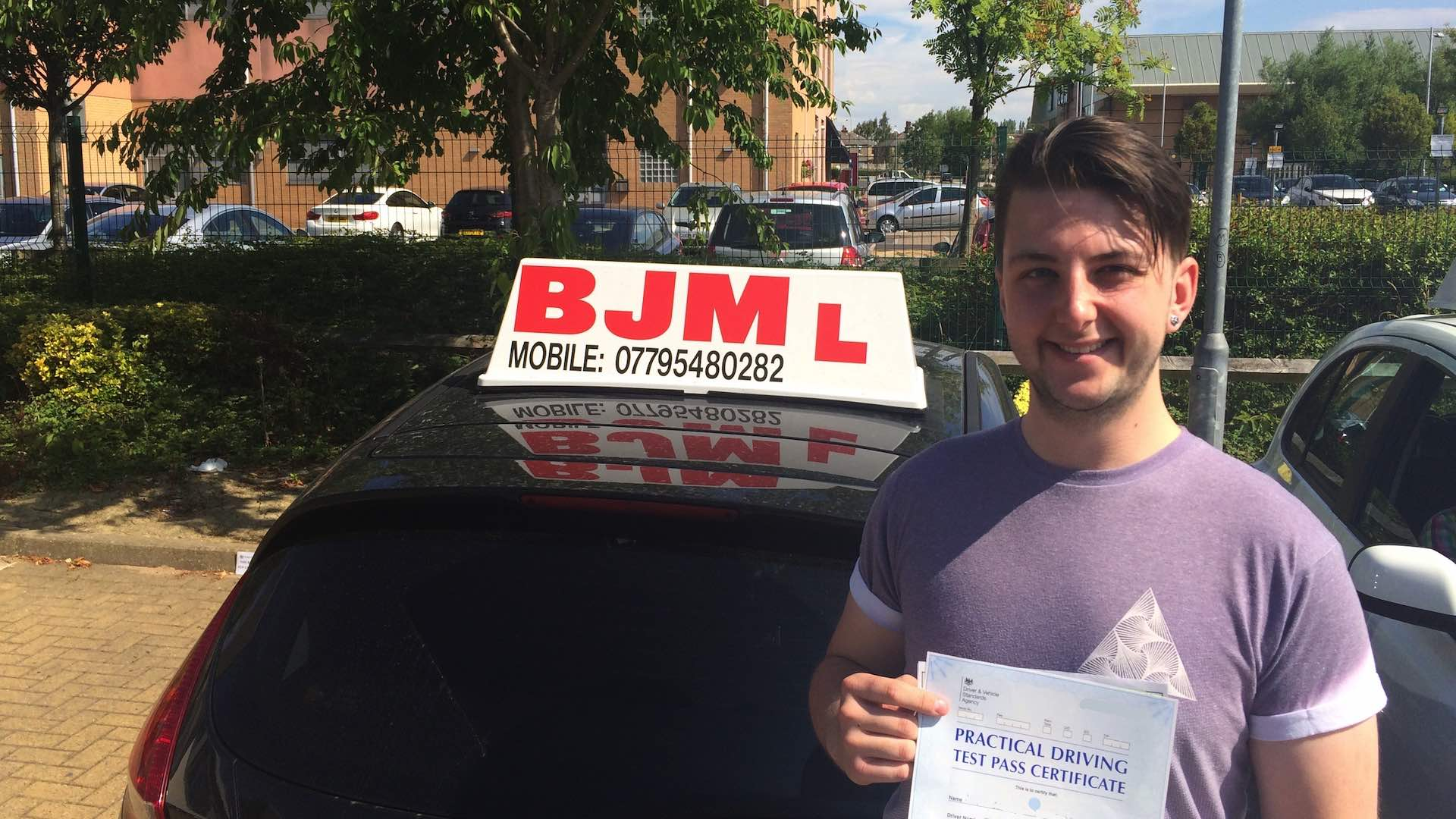 BJM School of Motoring, Bradford's first choice of driving for excellence. BJM Drivings Lessons Bradford Call: 07795480282 21st May Pass 1