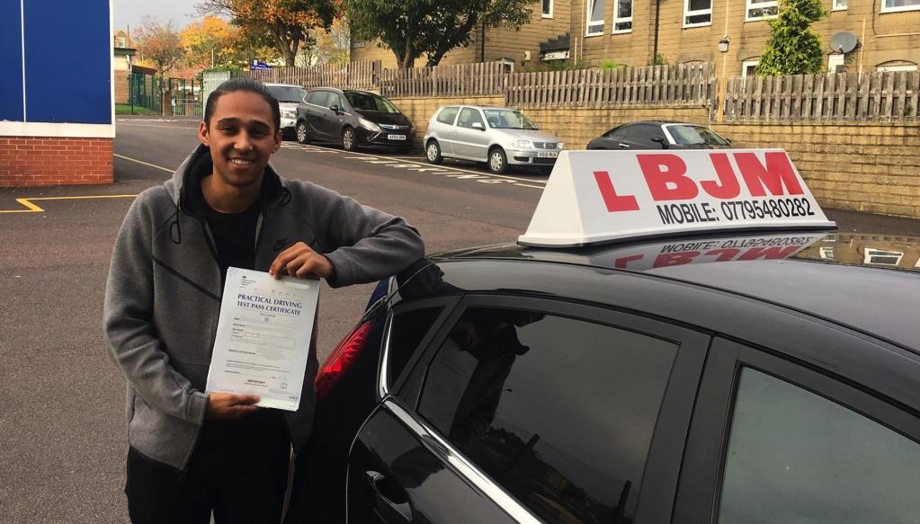 Congratulations Isaiah from BJM School of Motoring upon passing your driving Test Pass Call: 07795480282