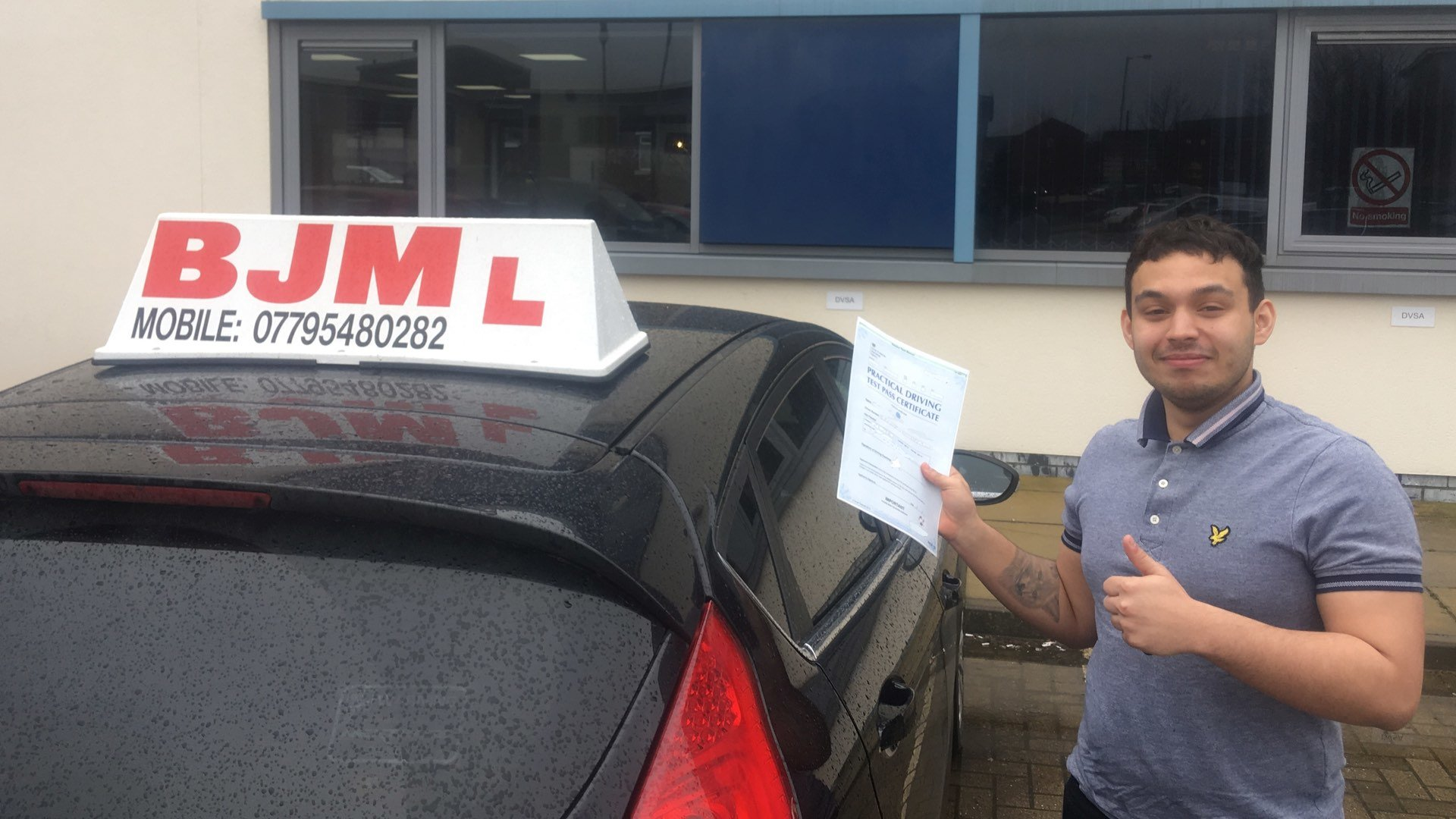 Congratulations Micheal, Congratulations Micheal, BJM School of Motoring