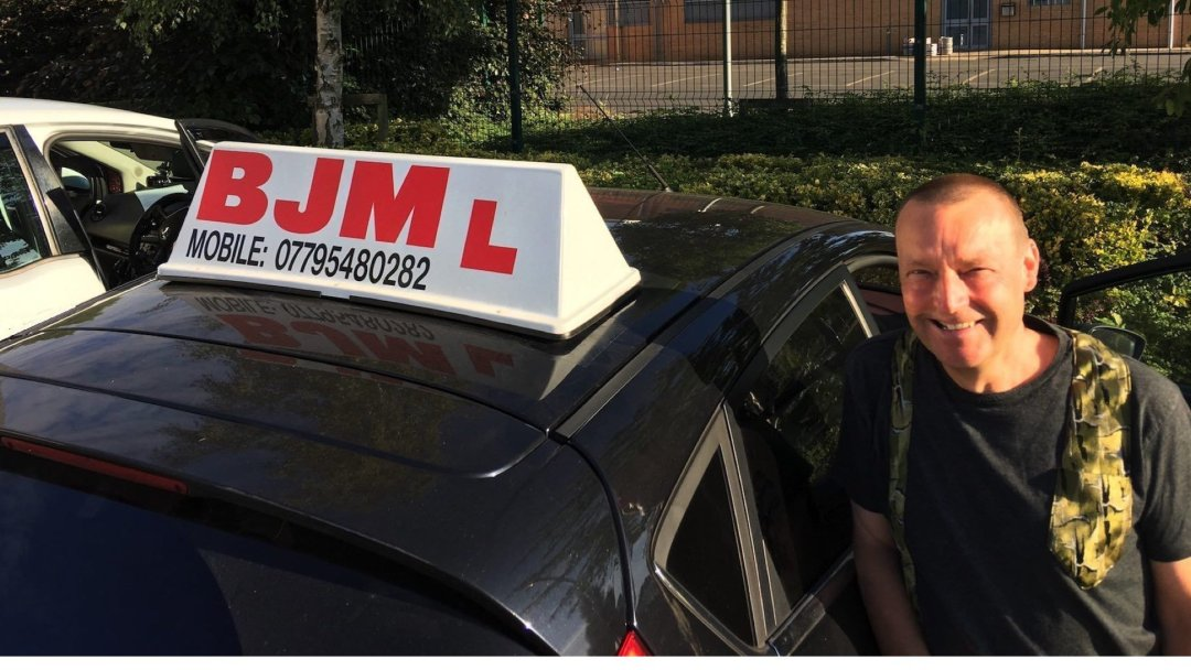 Congratulations Mark passing your driving test with BJM School of Motoring