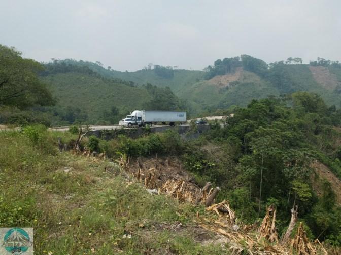 Der Weg nach Palenque