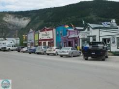Straßenscenen in Dawson
