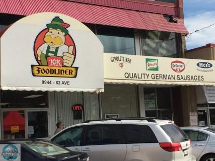 Deutscher Metzger und Deli Laden in Old Strathcona, Edmonton