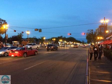 Old Strathcona bei Nacht