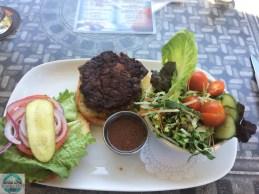 Die hausgemachten Hamburger, also nicht von einer Fast Food Kette, sind immer wieder lecker