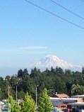 Mount Rainier aus der Ferne