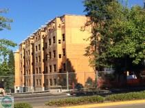 Auch mehrstöckige Gebäude werden aus Holz gebaut