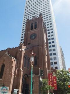 St. Mary's Church, die älteste Kirche der Stadt