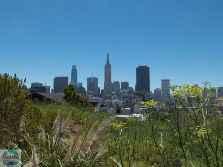...mit einem tollen Blick auf die Stadt