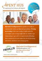Åpent hus - et møtested for voksne på dagtid (Illustrasjon: Bjørndal frivilligsentral - Laine Gundersen)