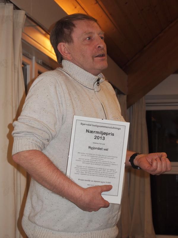 Nærmiljøprisen 2013