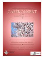 Mortensrud kirkekor og Seop Singers inviterer til cafékonsert 21.05.2015.