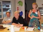 Ragnar Hafsøe, Dag Klingberg og Nina Tveit ledet møtet (foto: Sven Brun)