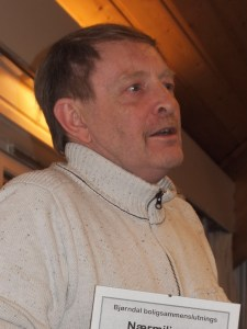 Ragnar Hafsøe, leder i BBS (foto: Sven Brun)