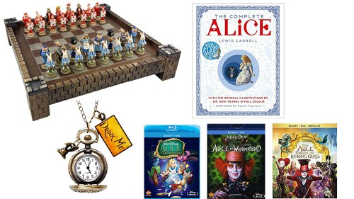 More Alice in Wonderland goodies.