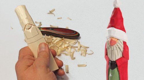 Woodcarving Santa