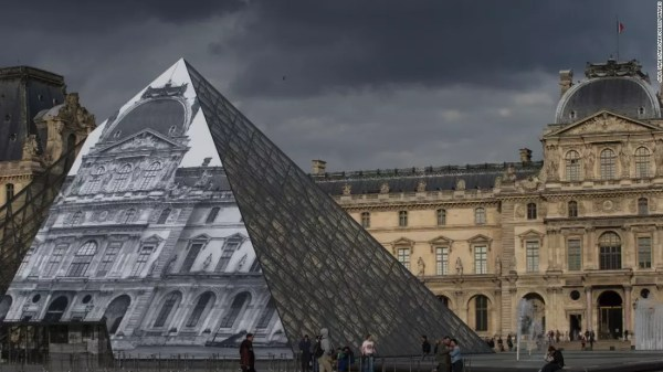 JR makes The Louvre invisible – British Journal of Photography