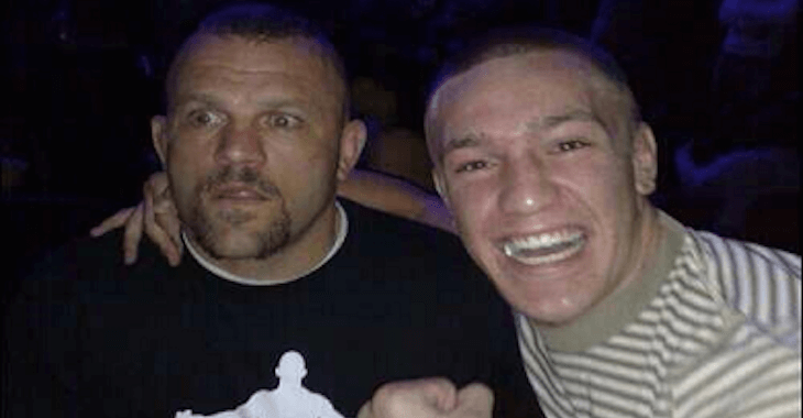 Chuck liddell jeremy horn 0 0 12 8 0 3 0 3 ufc 19: Chuck Liddell with a young Conor Mcgregor   Sherdog Forums ...
