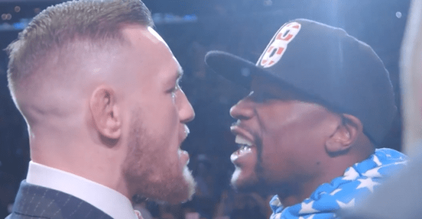 VIDEOS | Conor McGregor and Floyd Mayweather go at it ...