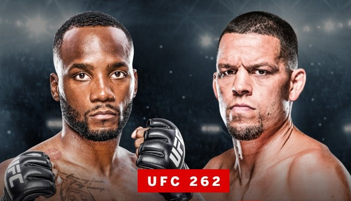 Nate Diaz Leon Edwards UFC 262
