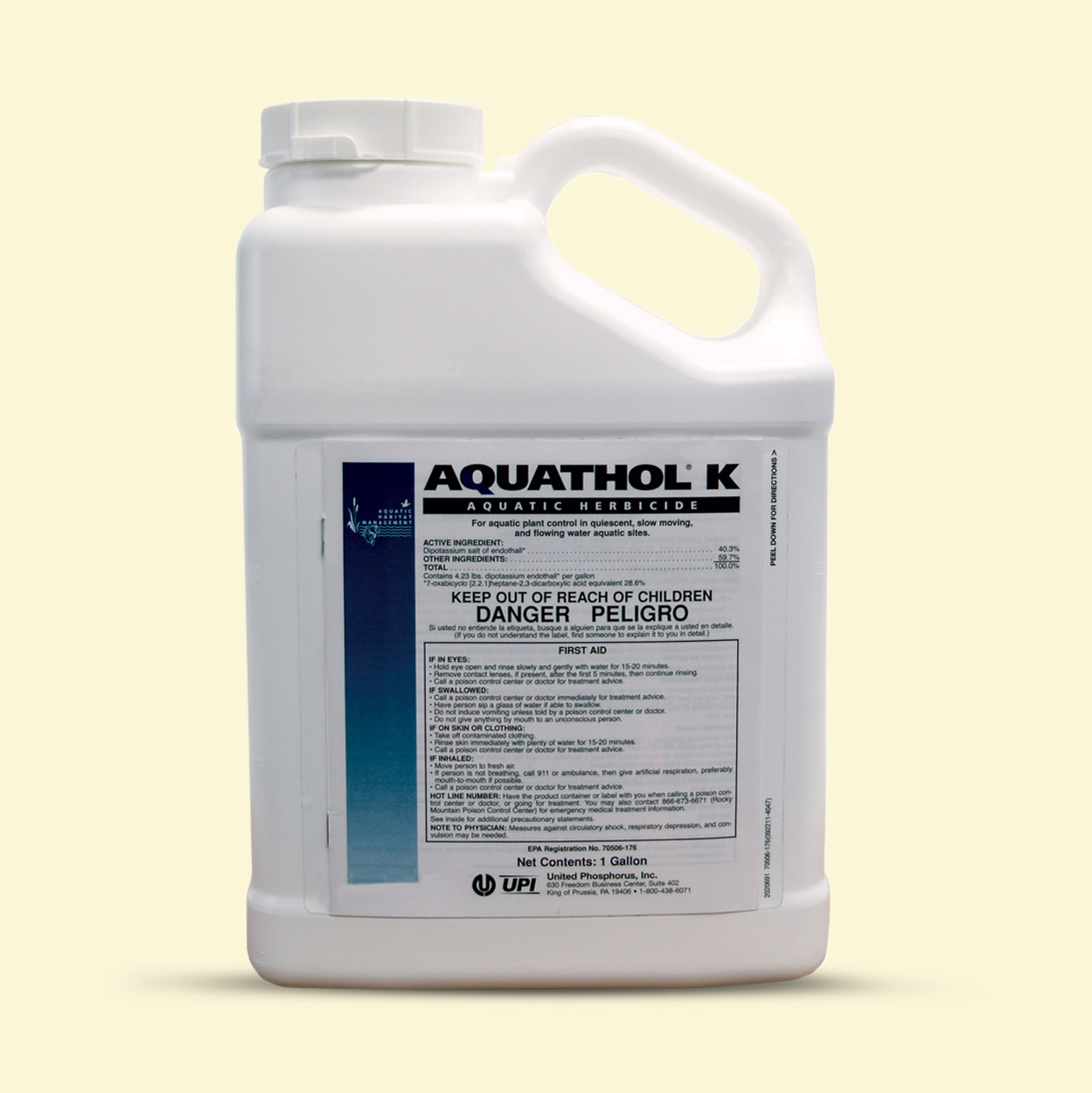 Aquathol K Liquid 1 Gal