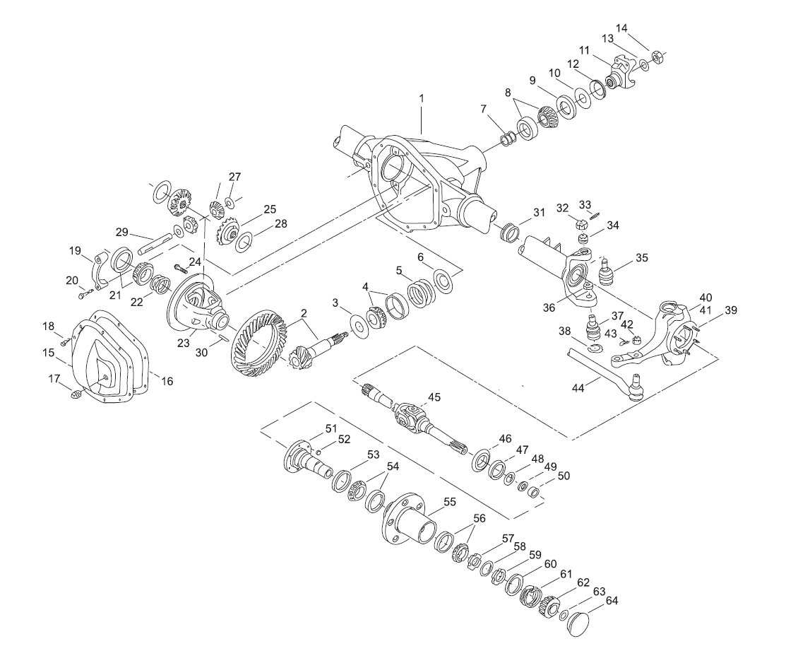 Dana 35 Front Axle Diagram Parts Wiring Diagram Images