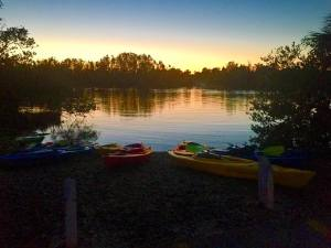 orlando kayaking sunset tour with bioluminescence