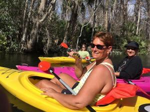 kayaking in florida on monkey tour