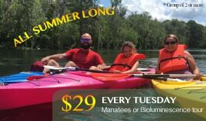 special offer kayaking orlando florida