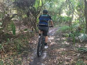 mountain biking near Orlando - BK Adventure tour