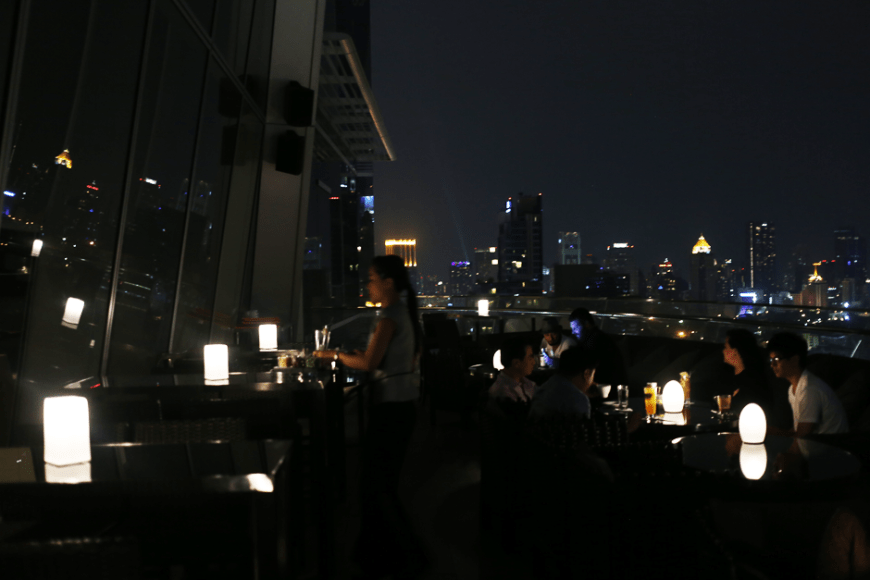 UP & ABOVE RESTAURANT AND BAR