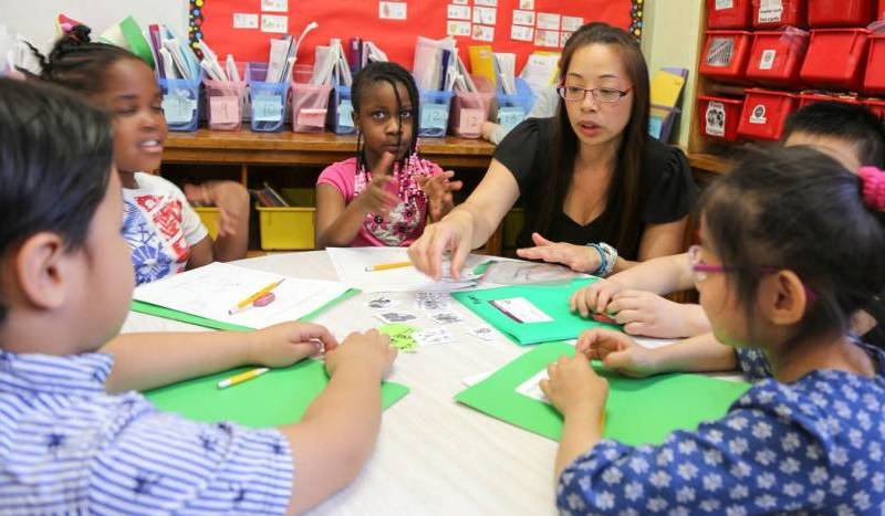 Mayor de Blasio and NYC School Chancellor Carranza announced on Monday the expansion of Pre-K Dual Language Programs.
