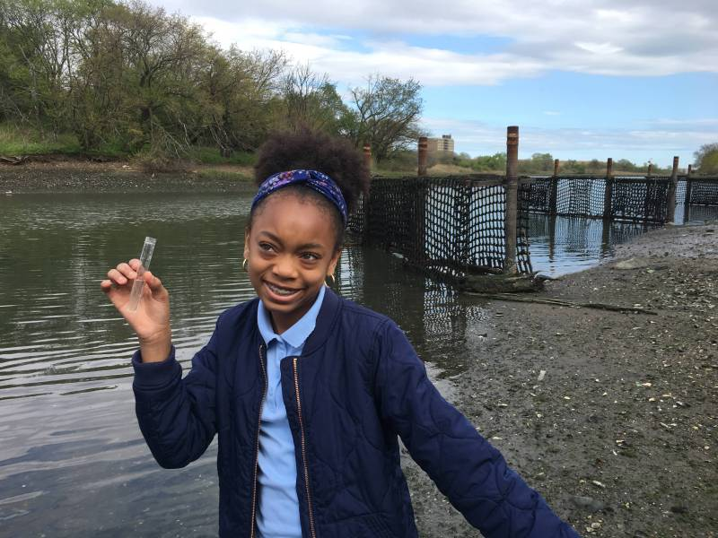 The Green Girls after-school program empowers East New York girls with STEM education to become environmental advocates for their community