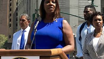 "Brooklyn Lawmakers decried Trump's policies that ""aim to terrorize and imitate immigrant communities all across America,"" and vowed to push back."