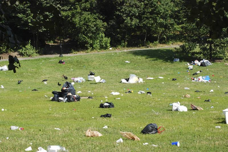 NYC Parks; COVID-19; Prospect Park; Litter