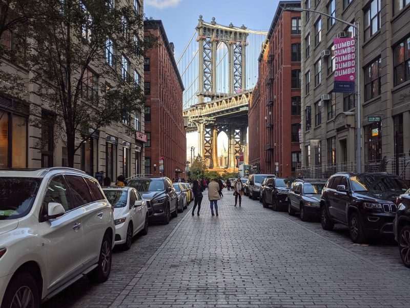 DUMBO bursting at the seams with tourists, workers, residents — and construction