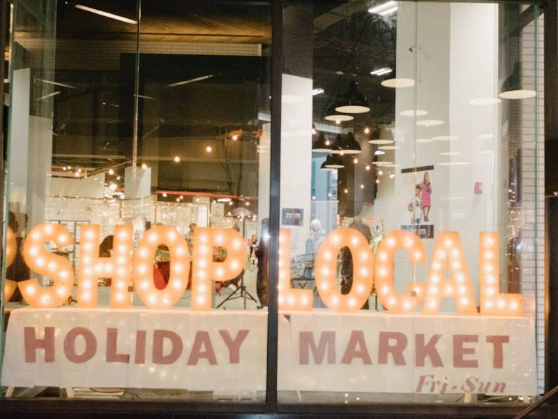 Shop Local Holiday Markets