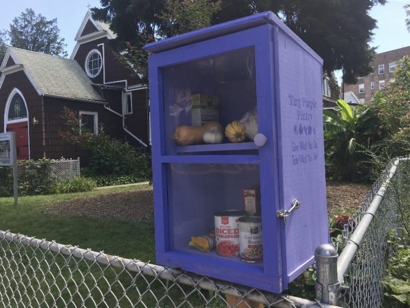 A Helping Hand In The Neighborhood: Purple Pantries Fill A Community Need