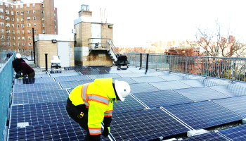 With Solar Panels on NYCHA Roofs, Initiative Looks to Give Energy Savings to Low-Income New Yorkers