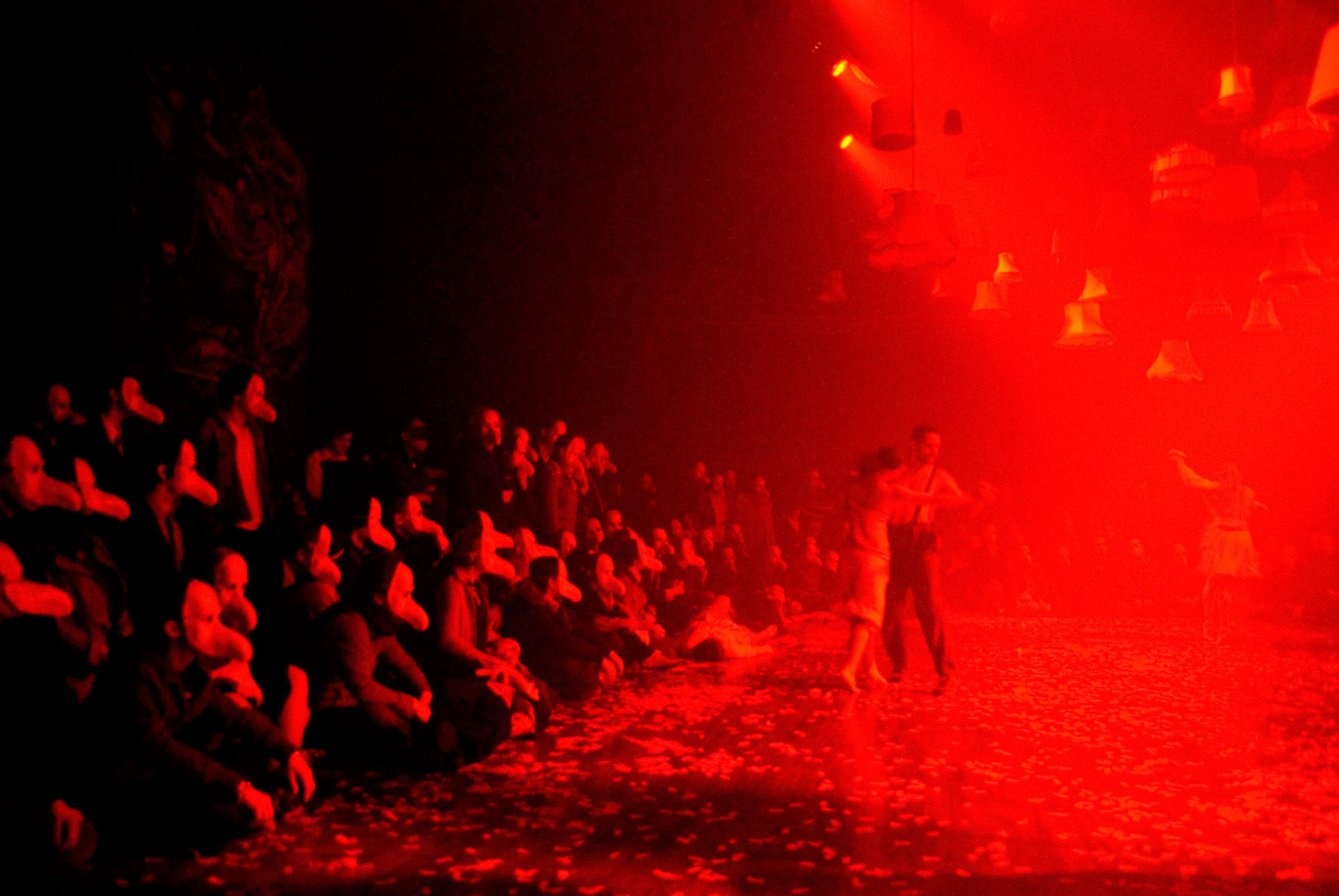 Photograph Of Punchdrunk S The Masque Of The Red