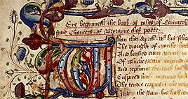 British Library Chaucer Manuscript