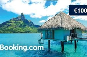 Tarjeta Regalo de booking por el valor de 100 euros