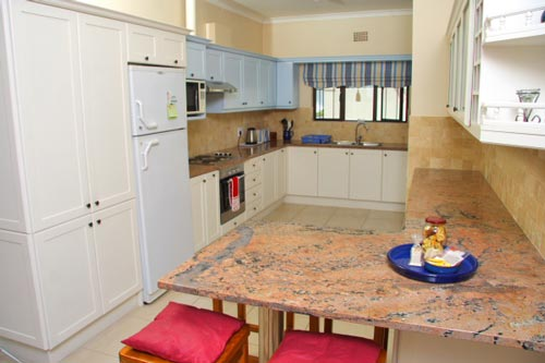 Open plan kitchen area with all facilities required for self-catering