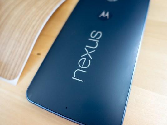 Mon beau Nexus 6 tout nu